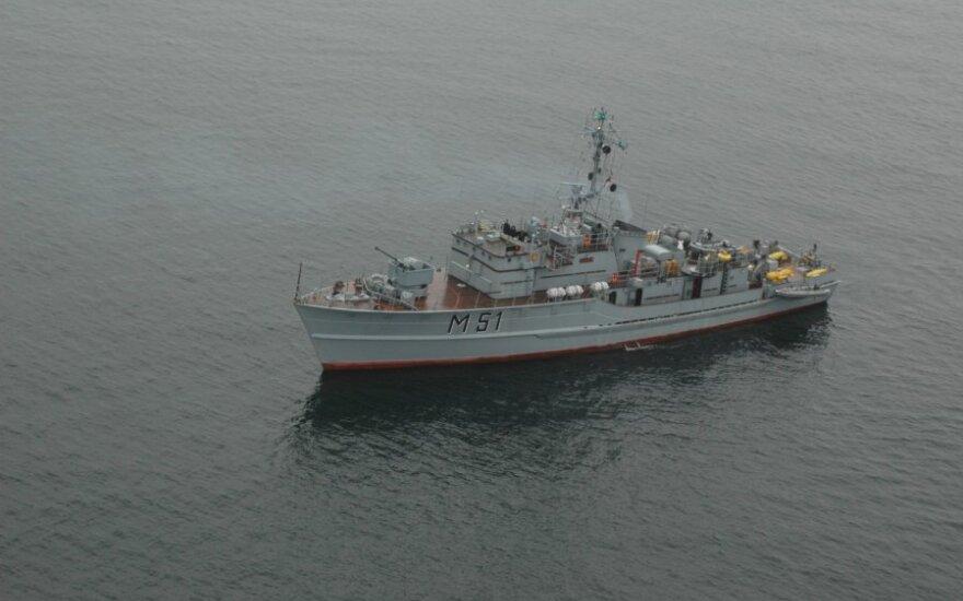 В Балтийском море проходят военно-морские учения BALTOPS