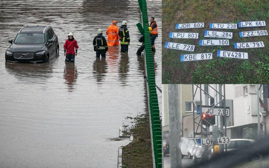 В Литве ожидается контрастная погода: на смену жаре придут ливни