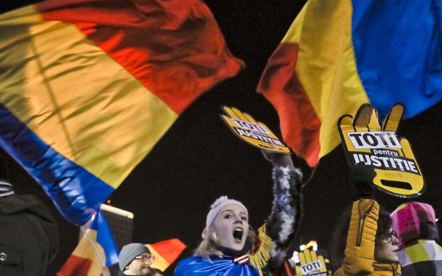 В Румынии прошли масштабные протесты: счет пострадавших идет на сотни