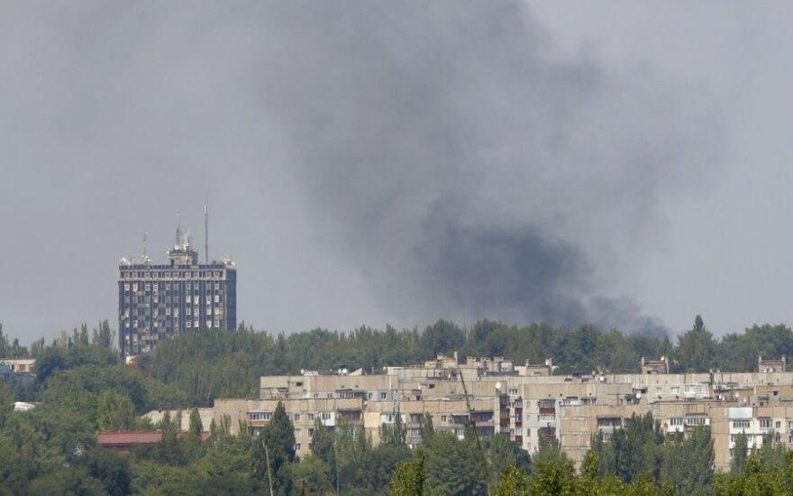 СНБО: в Макеевке террористы удерживают в заложниках 34 человека