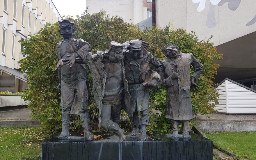 """Skulptūra """"Bičiuliai"""""""