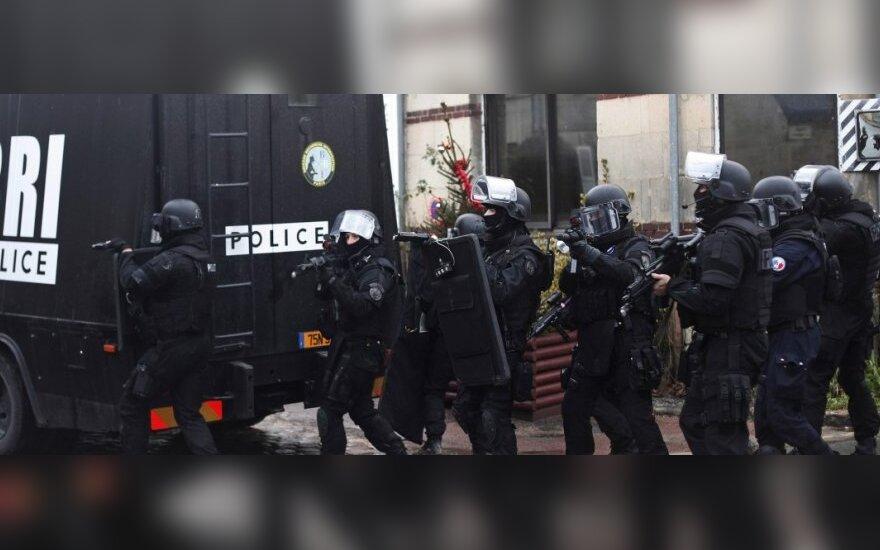 Prancūzijoje – didelis susišaudymas