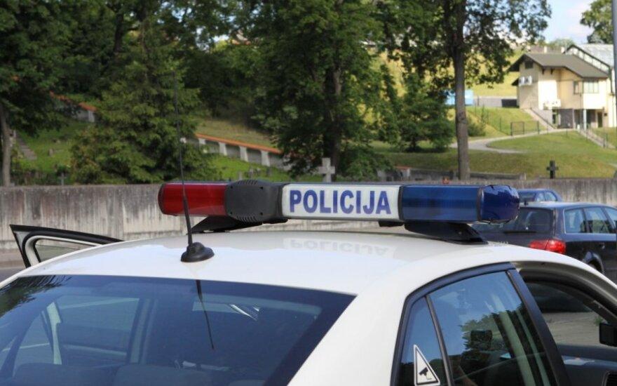 В Вильнюсе следователь попал в аварию