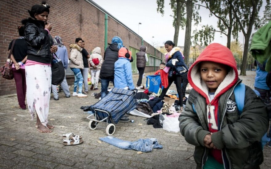 Refugees in Rotterdam