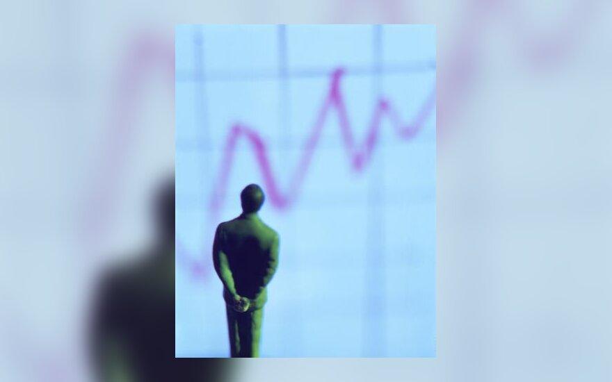Verslininkas, kreivė, rezultatai, verslas, progresas