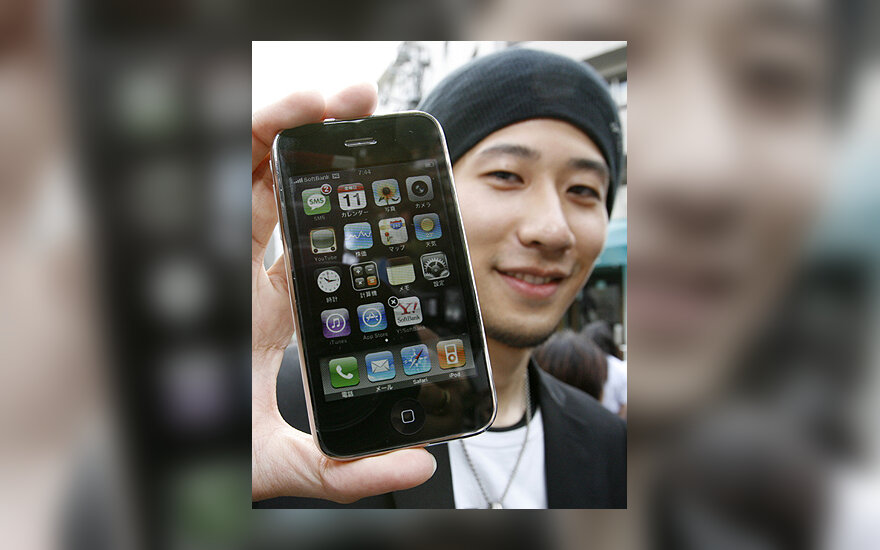 "Japonas su ""iPhone 3G"""
