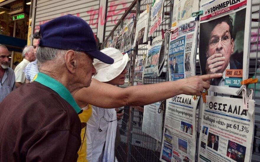 Graikija po referendumo