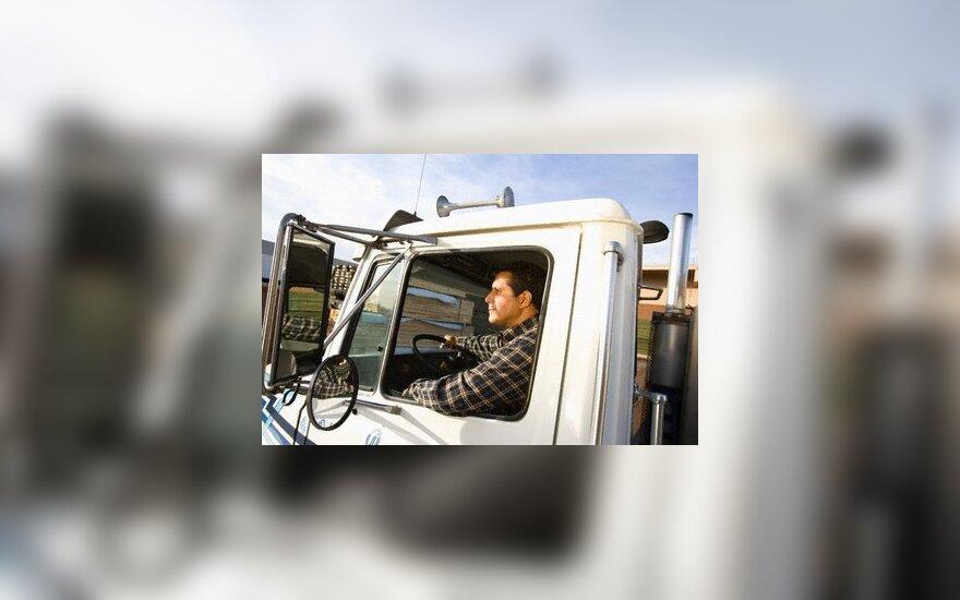 Sunkvežimis, vairuotojas