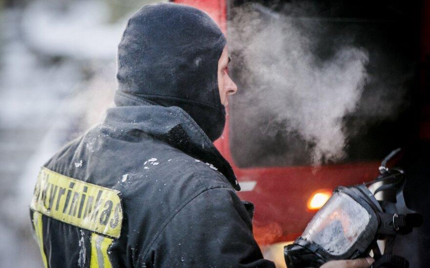 Трагедия в Аникщяй: в огне погибли трое мужчин