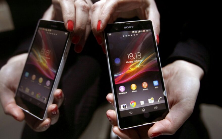 """Sony Xperia Z"" išmanusis telefonas"