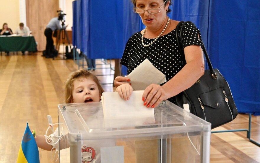 Rinkimai Ukrainoje