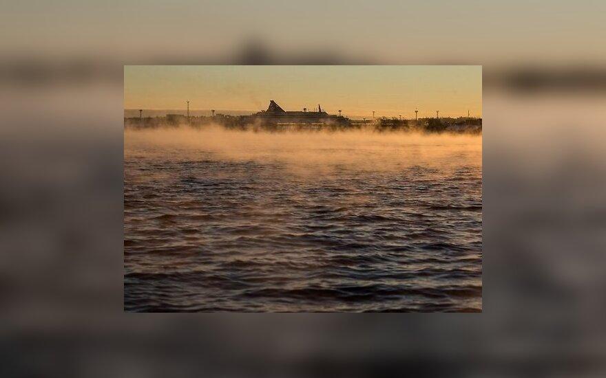 В Эстонии температура упала до минус 27 градусов
