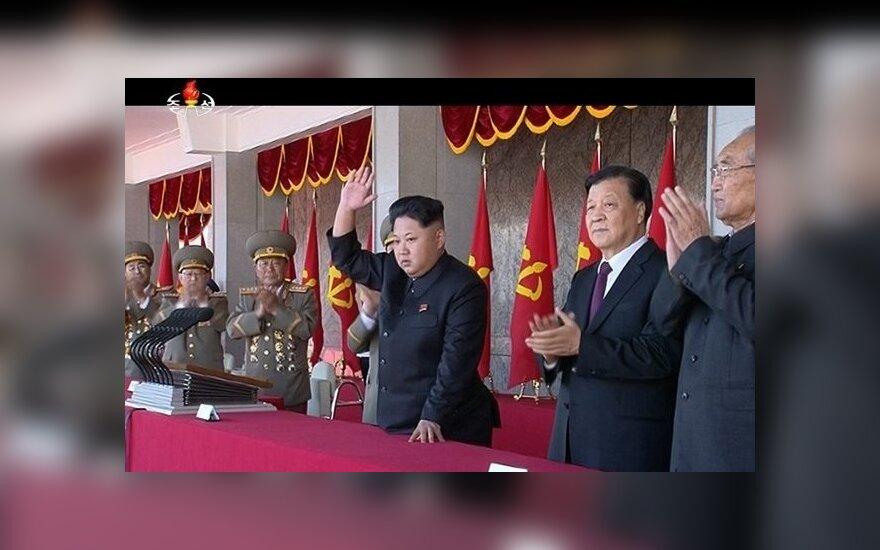 Š. Korėja mini 70-ąsias valdančiosios Darbininkų partijos įkūrimo metines