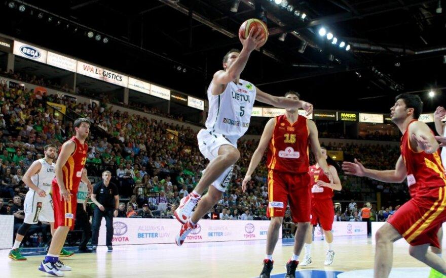 Литва в товарищеском матче уступила Македонии