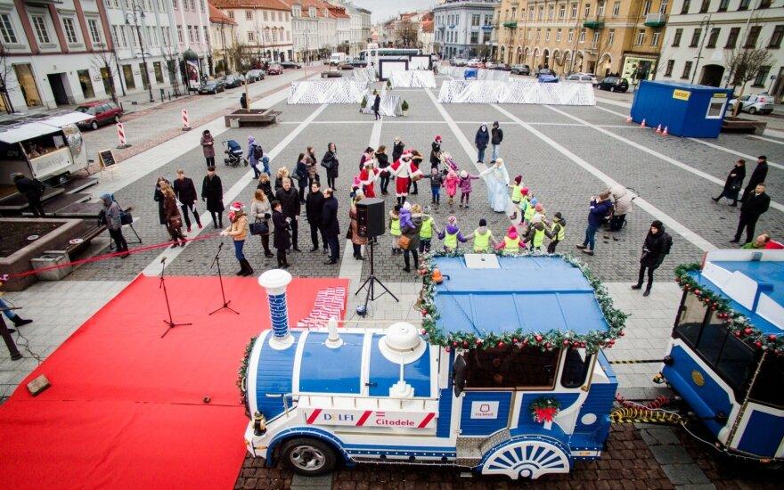 Рождественский поезд в столице проедет по особому маршруту