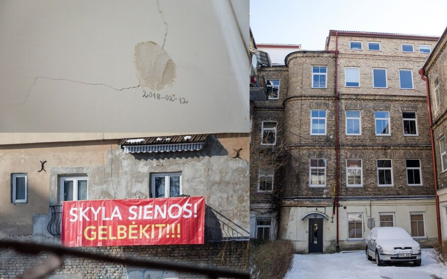 Жители просят о помощи: из-за строительства трескаются стены