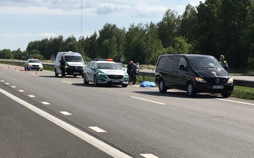 В ДТП на автостраде под Каунасом погибла гражданка Эстонии