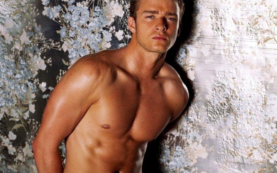 Justin Timberlake z członkiem Three 6 Mafia