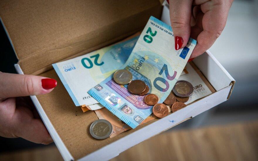 Опрос: финансовые последствия карантина ощутила половина жителей Литвы