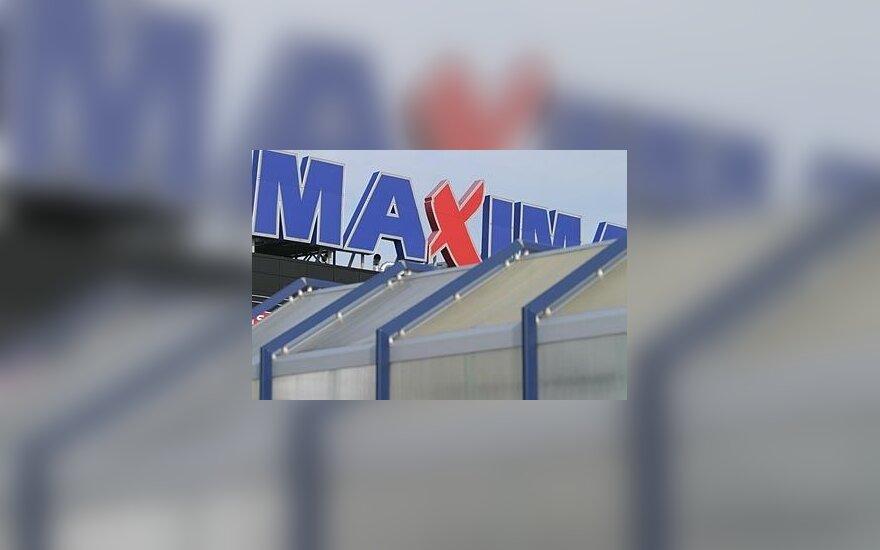 В Каунасе через дырку в крыше обворовали магазин Maxima