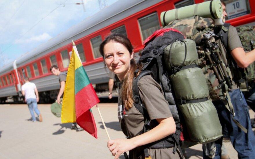 """Delfi.lt žurnalistė Eglė Samoškaitė išvyksta į """"Misiją sibiras 2011"""""""