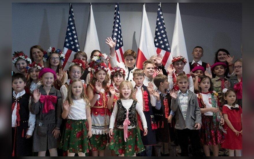 Spotkanie premier Szydło z Polakami mieszkającymi w USA fot. P. Tracz / KPRM