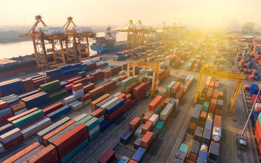 Экспорт Литвы в этом году вырос на 9,8%, а импорт – на 7,7%