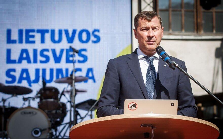 Список Литовского союза свободы возглавляет Зуокас