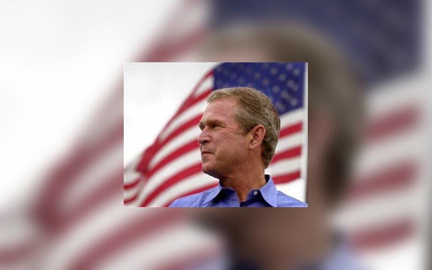 Джордж Буш сравнил Беларусь с Зимбабве