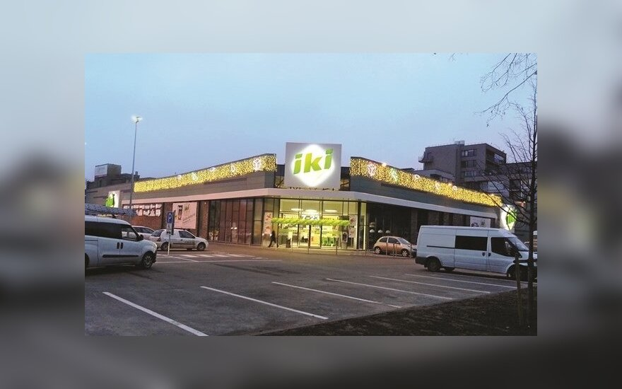 Iki parduotuvė Vilniaus Mindaugo gatvėje