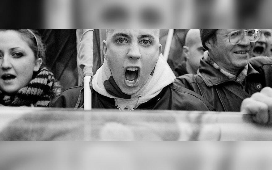 Шествие националистов в Вильнюсе