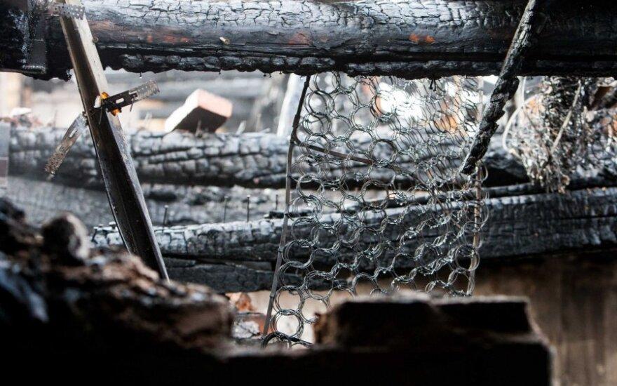 В первый день года в пожарах погибли три человека