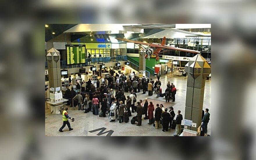 В аэропорту Вильнюса – первая волна увольнений