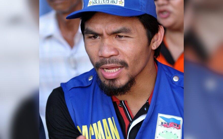 """Emmanuel Dapidran """"Manny"""" Pacquiao"""