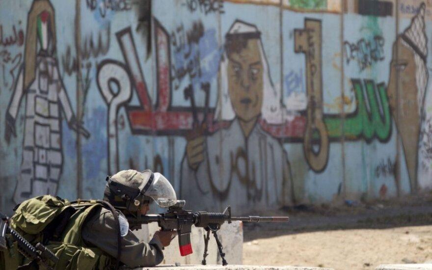 В Палестине в ДТП погиб литовец, служивший в миссии
