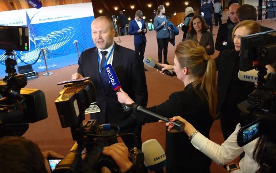 Борислав Береза и Ольга Скабеева