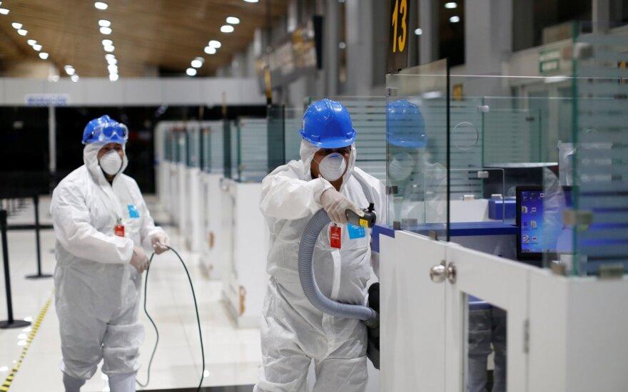 В Литве на превенцию коронавируса выделено 1,2 млн евро из государственного резерва
