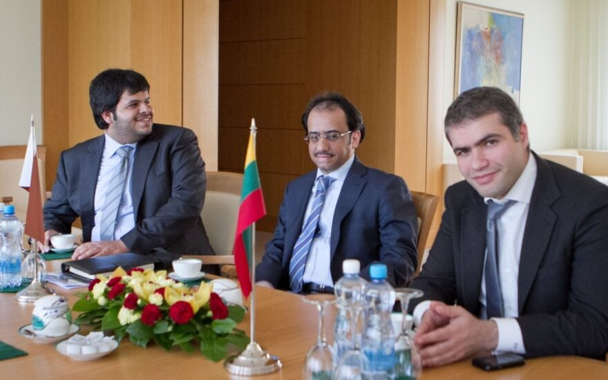 Qatar Investment Authority atstovai