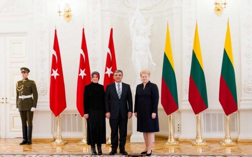 Президент: в ходе председательств в ЕС Литва постарается ускорить переговоры с Турцией