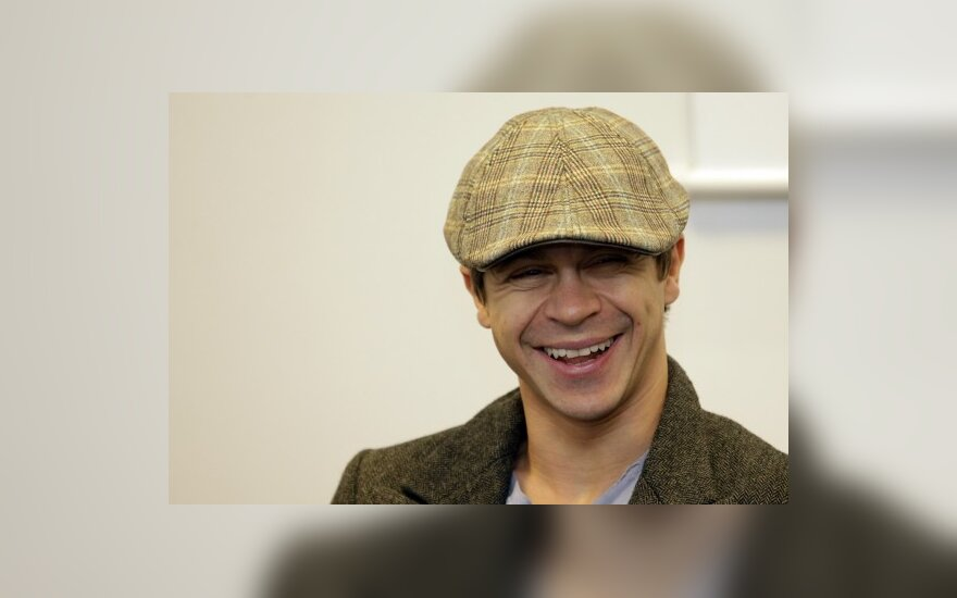 Павел Деревянко в Вильнюсе: впадать в депрессию некогда