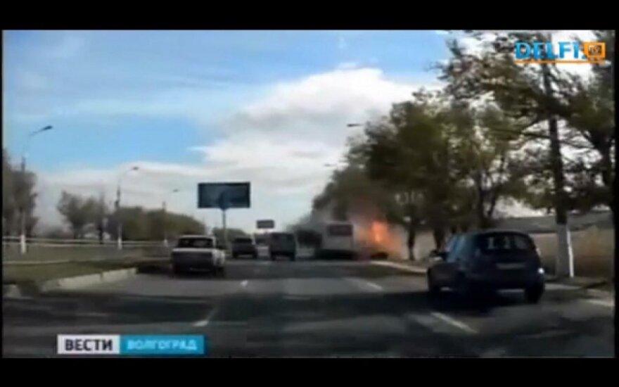 Autobuso sprogimas Rusijoje