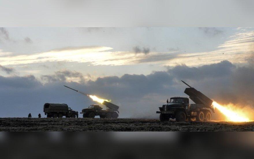 "Украина: боевики в зоне АТО снова применили ""Град"""