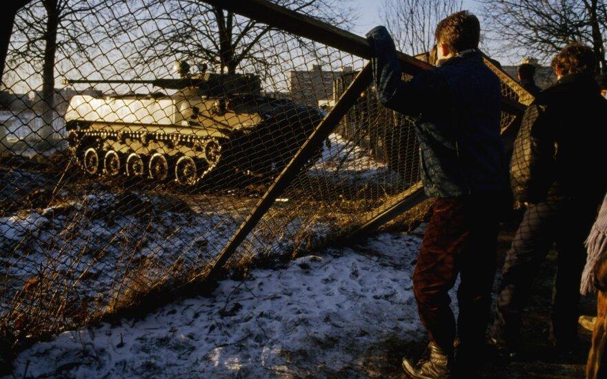 В годовщину 13 января Литва отдает дань памяти защитникам свободы