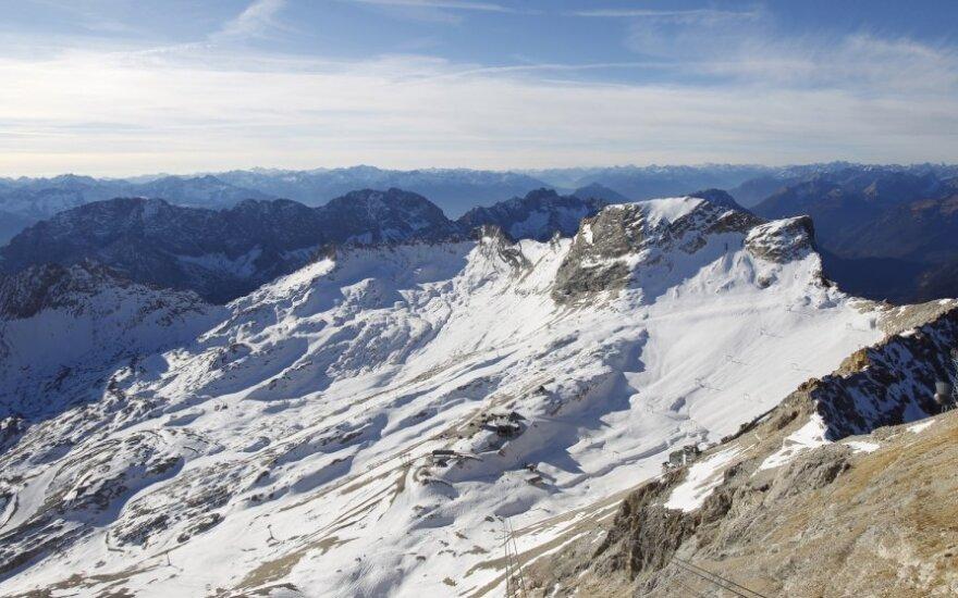 Prancūzijos alpių plotas sumažėjo ketvirtadaliu