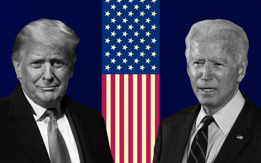 Donaldas Trumpas, Joe Bidenas