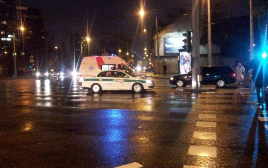 В Вильнюсе за пару часов автомобили сбили четырех пешеходов