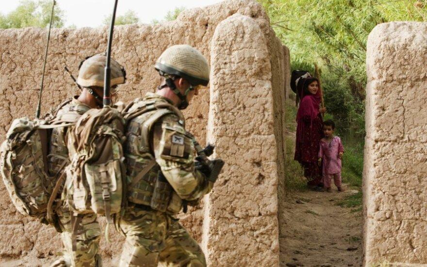 Britų kariai Afganistane