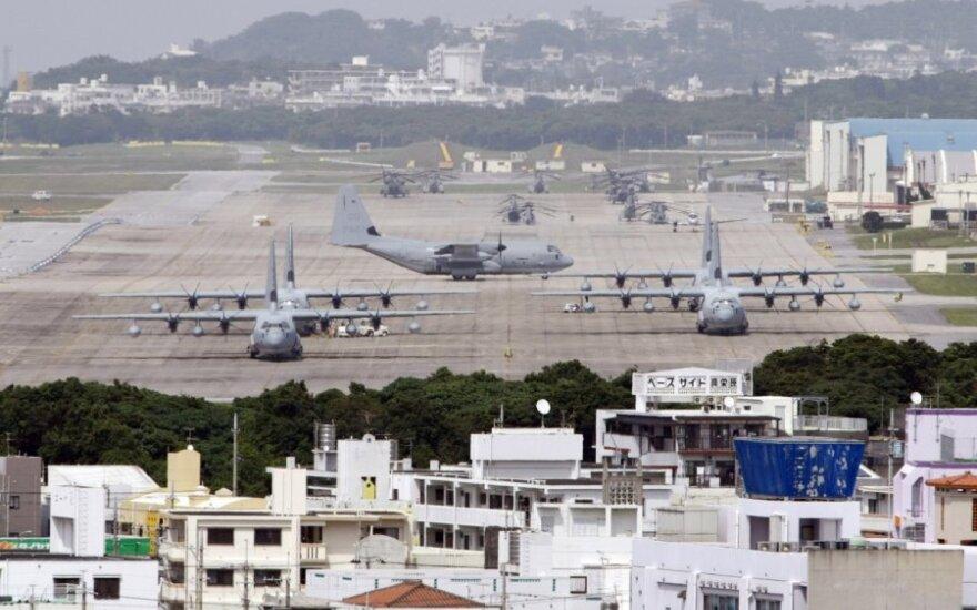 Американским военным запретили пить за пределами базы Окинавы
