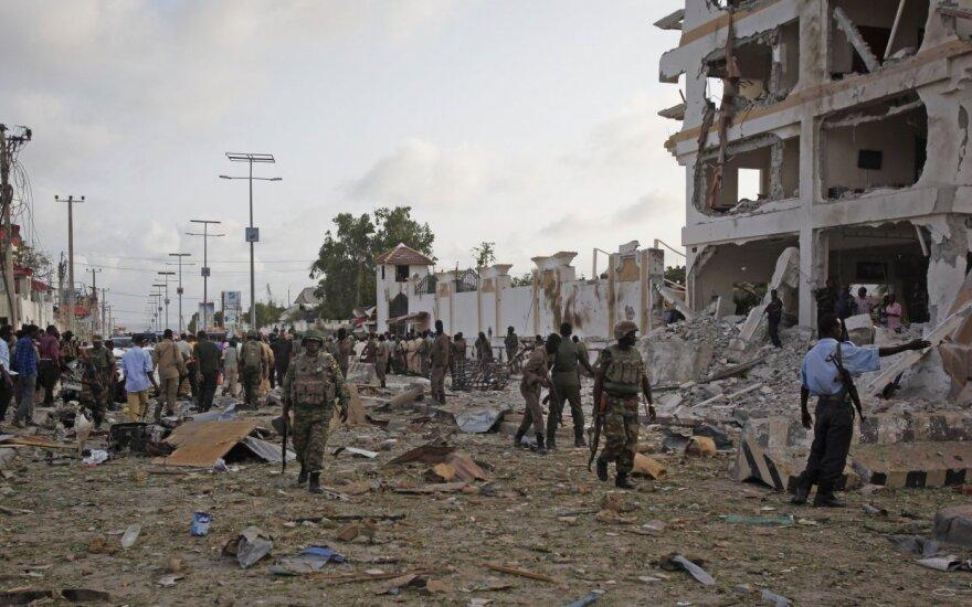 Исламисты атаковали отель в столице Сомали: минимум 15 погибших
