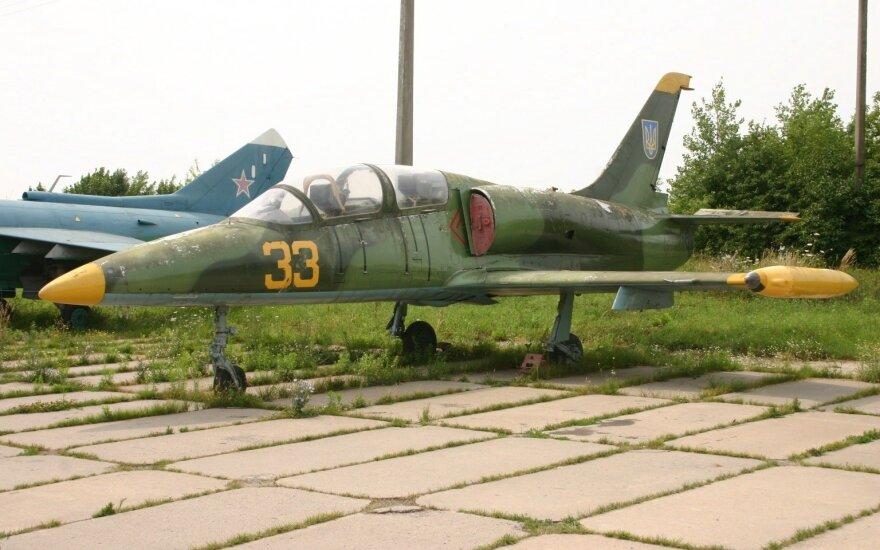 В Краснодарском крае разбился военный самолет Л-39